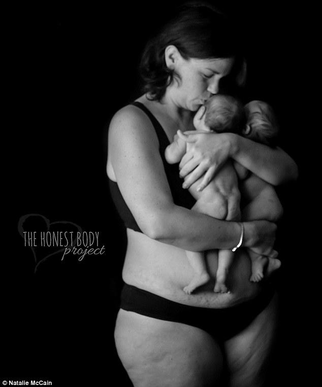 телото на мајката после породувањето