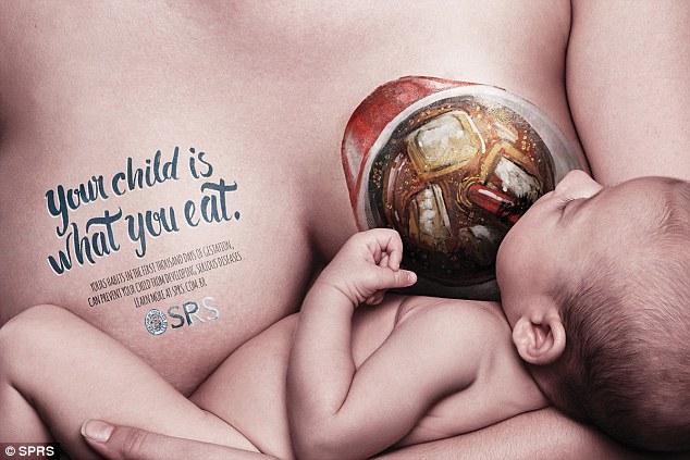 влијание на исхраната на мајката врз бебето