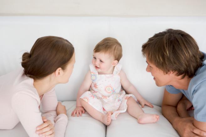 дете со родителите