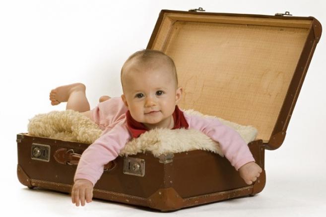 патување со бебе
